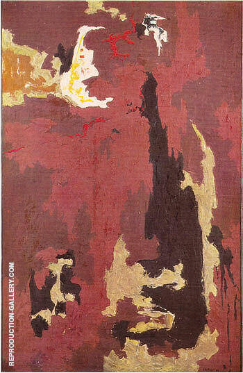 1946 L By Clyfford Still Replica Paintings on Canvas - Reproduction Gallery