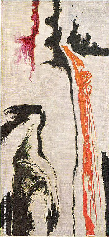 September 1946 Painting By Clyfford Still - Reproduction Gallery