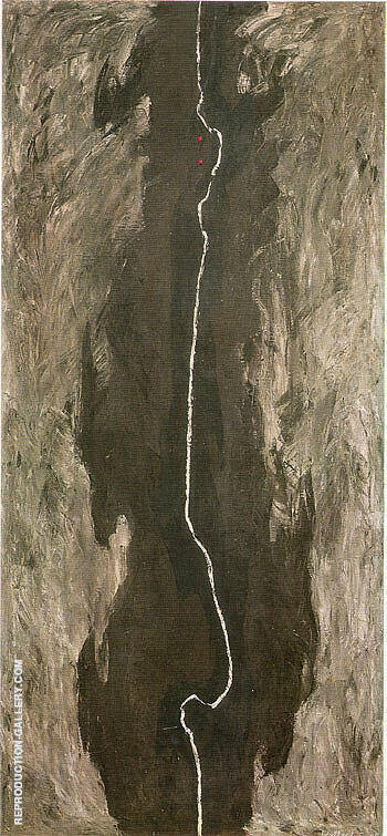 July 1945 R By Clyfford Still