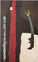 1945 K Painting By Clyfford Still - Reproduction Gallery