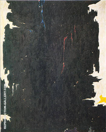 1947 8 W By Clyfford Still Replica Paintings on Canvas - Reproduction Gallery
