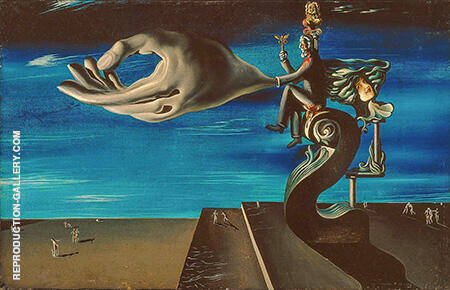 The Hand 1930 By Salvador Dali - Oil Paintings & Art Reproductions - Reproduction Gallery
