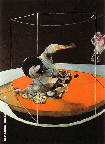Figure in Movement 1976 By Francis Bacon Replica Paintings on Canvas - Reproduction Gallery