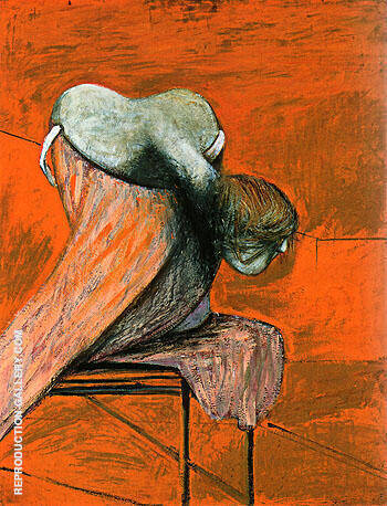 Studies for Figures as the Base of a Crucifixion 1944 By Francis Bacon Replica Paintings on Canvas - Reproduction Gallery