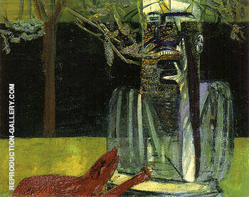 Figure in a Garden 1937 By Francis Bacon Replica Paintings on Canvas - Reproduction Gallery