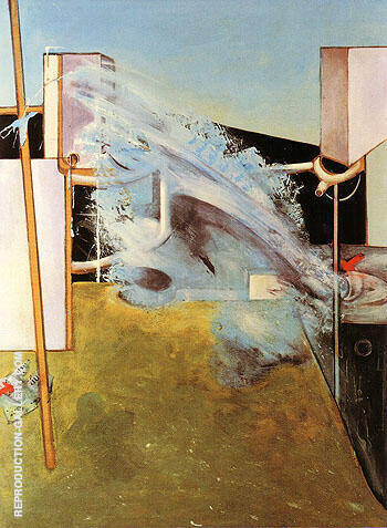 Reproduction of jet of Weter 1979 by Francis Bacon | Oil Painting Replica On CanvasReproduction Gallery
