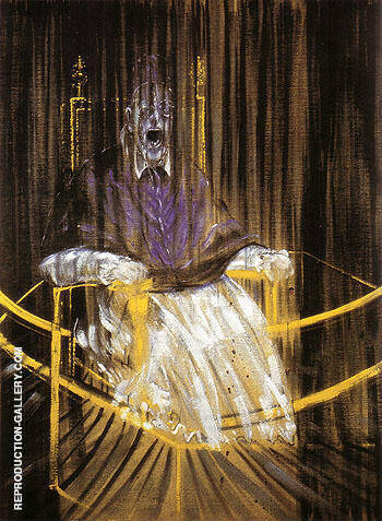 Reproduction of Study after Velazquez Portrait of Pope Innocent X 1953 by Francis Bacon | Oil Painting Replica On CanvasReproduction Gallery