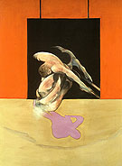 Figure in Movement 1978 By Francis Bacon