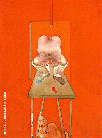 study of the Human Body 1982 By Francis Bacon Replica Paintings on Canvas - Reproduction Gallery