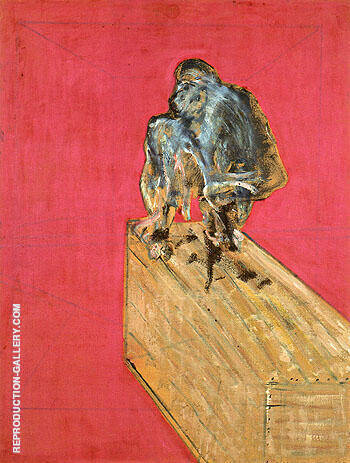 Reproduction of Study of a Chimpanzee 1957 by Francis Bacon | Oil Painting Replica On CanvasReproduction Gallery