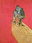 Study of a Chimpanzee 1957 By Francis Bacon
