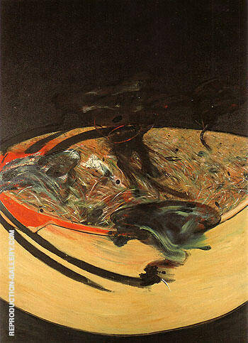 Landscape near Malabata Tangier 1963 By Francis Bacon Replica Paintings on Canvas - Reproduction Gallery