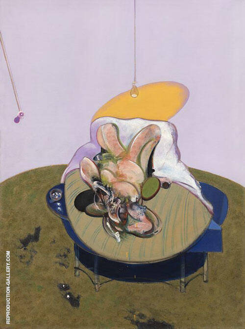 Lying Figure 1969 By Francis Bacon Replica Paintings on Canvas - Reproduction Gallery