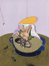 Lying Figure 1969 By Francis Bacon