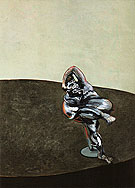 Three Figures in a Room 1964 By Francis Bacon
