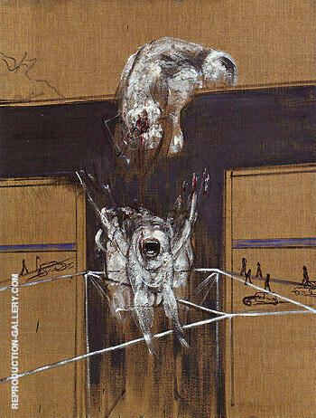 Fragment of a Crucifixion 1950 By Francis Bacon Replica Paintings on Canvas - Reproduction Gallery