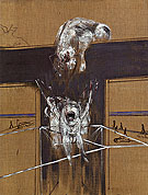Fragment of a Crucifixion 1950 By Francis Bacon