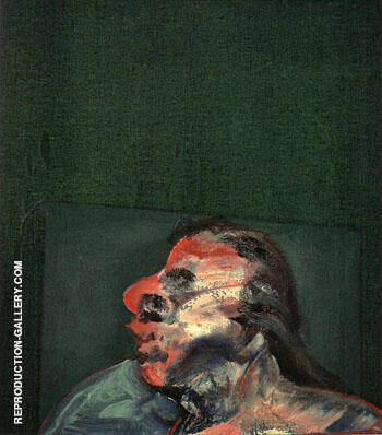 Miss Muriel Belcher 1959 By Francis Bacon Replica Paintings on Canvas - Reproduction Gallery