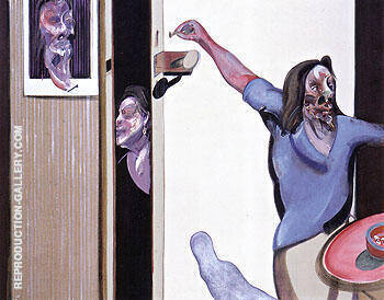 Three Studies of Isabel Rawsthorne 1967 By Francis Bacon