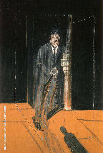 Portrait of Lucian Freud 1951 By Francis Bacon Replica Paintings on Canvas - Reproduction Gallery