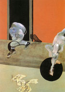 Figures in Movement 1973 By Francis Bacon