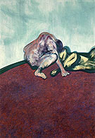 Two Figures in a Room 1959 By Francis Bacon