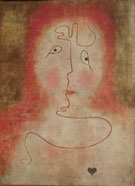 In the Magic Mirror 1934 By Paul Klee