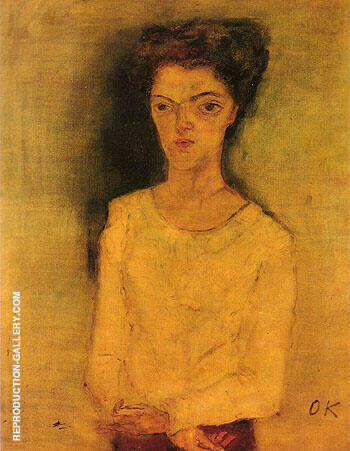 Martha Hirsch 1909 Painting By Oskar Kokoshka - Reproduction Gallery