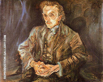 Adolf Loos 1909 By Oskar Kokoschka
