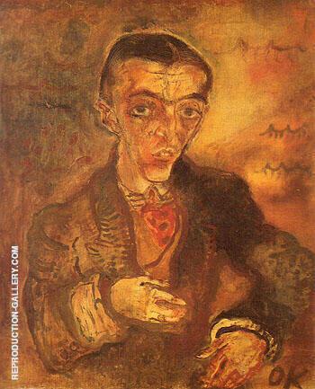 Count Verona 1910 By Oskar Kokoschka