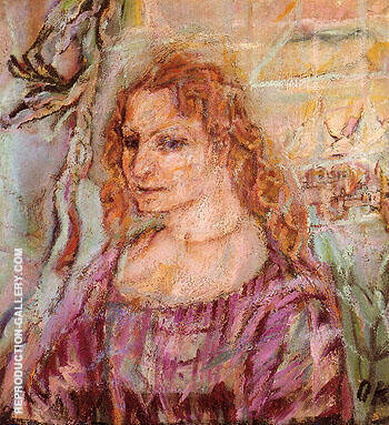 Reproduction of Alma Mahler 1912 by Oskar Kokoshka | Oil Painting Replica On CanvasReproduction Gallery