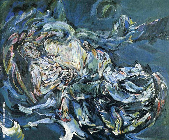 The Bride of the Wind 1913 By Oskar Kokoschka