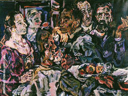 The Friends 1914 By Oskar Kokoschka