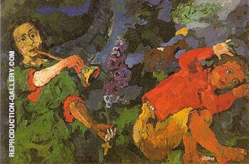 The Power of Music 1902 By Oskar Kokoschka