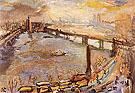 London Panorama of the Thames I 1926 By Oskar Kokoschka
