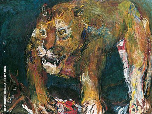 The Tigon 1926 By Oskar Kokoschka