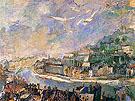Lyon 1927 By Oskar Kokoschka