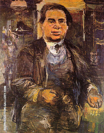 Leo Kestenberg 1926 Painting By Oskar Kokoschka - Reproduction Gallery