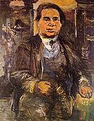 Leo Kestenberg 1926 By Oskar Kokoschka