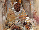 The Arab of Temacina 1928 By Oskar Kokoschka