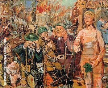Anschluss Alice in Wonderland 1942 By Oskar Kokoschka