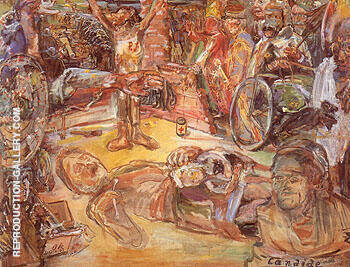 That for Which We Fight 1943 By Oskar Kokoschka
