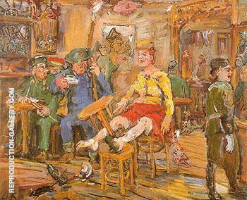 Marianne Maquis 1942 By Oskar Kokoshka Replica Paintings on Canvas - Reproduction Gallery