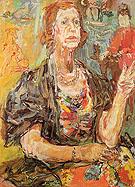 Cathleen Countess of Drogheda 1946 By Oskar Kokoschka