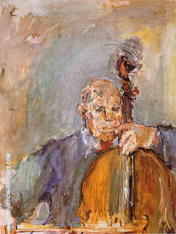 Pablo Casals 1954 By Oskar Kokoshka Replica Paintings on Canvas - Reproduction Gallery
