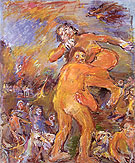 Theseus and Antiope 1958 By Oskar Kokoschka