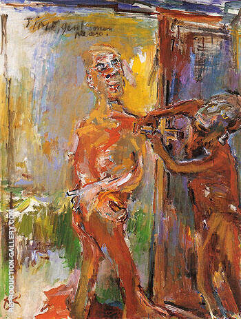 Time Gentlemen Please 1971 By Oskar Kokoschka