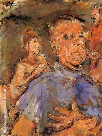 Self Portrait 1969 By Oskar Kokoschka