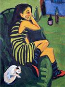 Marcella 1910 By Ernst Kirchner