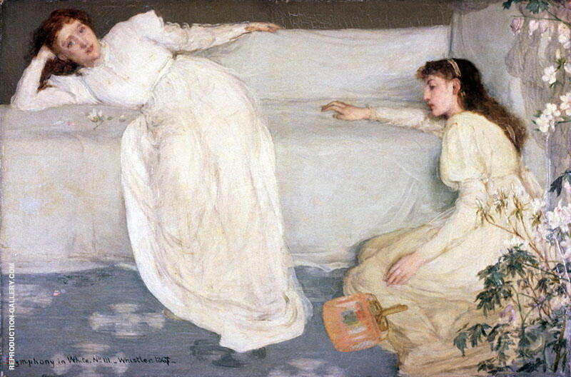 Symphony in White No 3 1865 By James McNeill Whistler